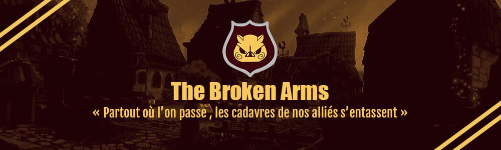 bannière the broken arms