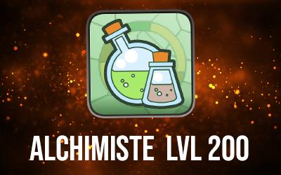 Tableau XP Alchimiste & Ressources sur Dofus 2.0