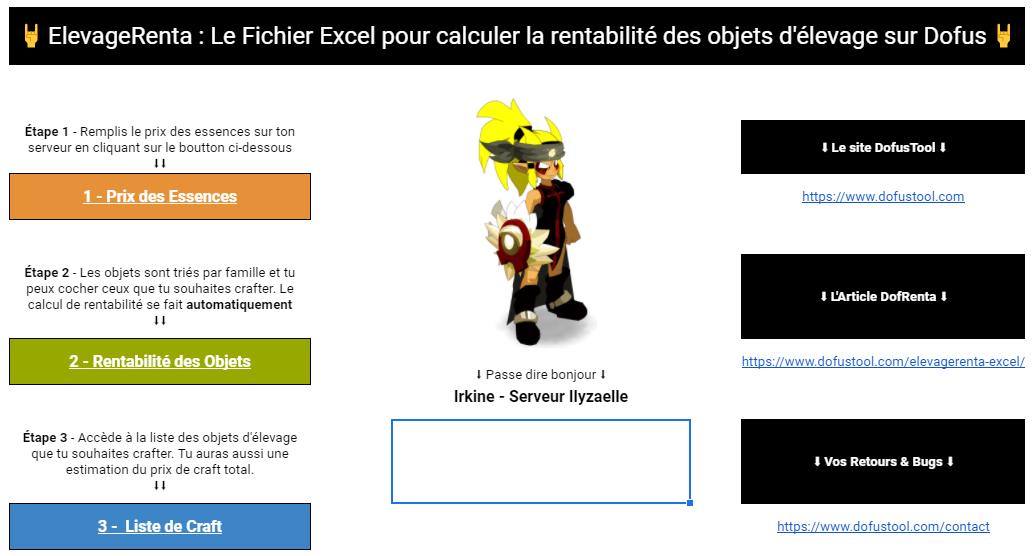 rentabilité_objet_elevage_dofus